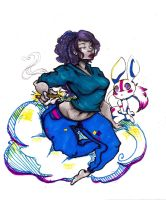 Imagination Cloud by Chrissy-Christine