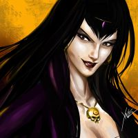Morgan Le Fay by neurowing