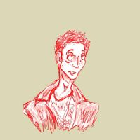 Dean Winchester in Red by makinmuffins17
