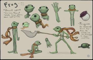Frog Ref Sheet by JesterCapp
