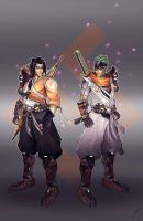 Shimada brothers by Puekkers