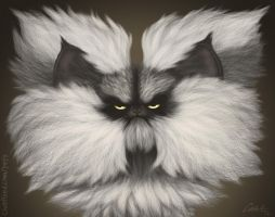 Colonel Meow Caricature by CharReed