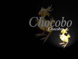 Wallpaper - Chocobo by FireDragon-Rekindled