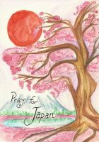 Pray for Japan by tomgirl227