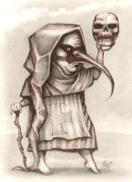 young plague doctor by HOMELYVILLAIN