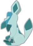 PKMN 0471 GLACEON by CassidyPeterson