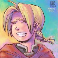 FMA - Edward Elric by jingster