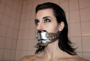 Loki Cosplay: Muzzle by Abessinier