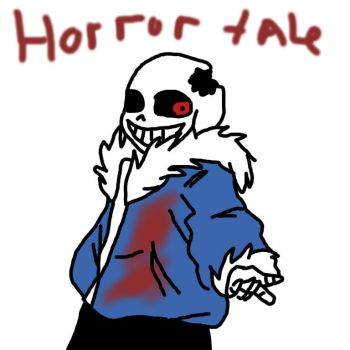 HorrorTale Sans by mylittlepony4ever12