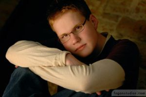 Me in my Senior picture by man-cool