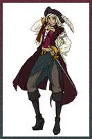pirate - inking.color by xNeko