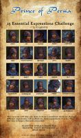Prince of Persia 25 expression by LupaSenzaLuna