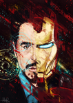 Tony Stark by MoishPain