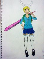 Fionna:early design: by domo-nik