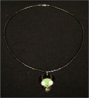 Invader Zim Gir Necklace by RebelATS