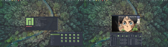 Road to Manjaro by luX0r-reload