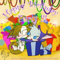 Happy Birthday Furly X3 by Mahsira