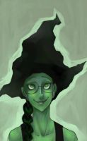 Wicked: A Sharp Hat by elindor
