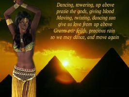 Egyptian Dancer by WhiteButterflyFilms