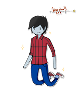Marshall Lee~ by Esha-R