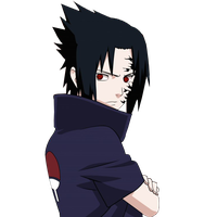 Sasuke curse mark Render by xUzumaki