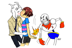 [Undertale] Papy the Wingman by MCMania332