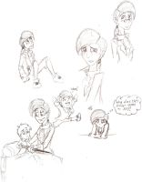 Gulliver's Sketch Dump by candlehat
