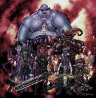 The Deadly Horde of Seven by KirbBrimstone
