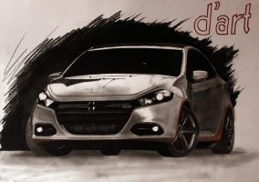 Dodge Dart 2013 by TarcDnB
