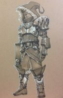 Fantasy Character Concept by Pencil-Fluke