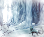 [Raffle: 1st Place] Cold forrest by TerrorPussy