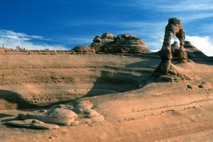 25535 Delicate Arch - a different Perspective by PhilS1761