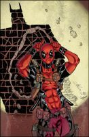 Deadpool colors by Memo Regalado by V3dd3rMan