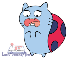 Gumball watterson as Catbug... by LastSecondHero
