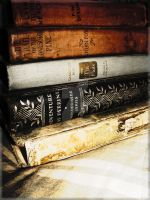 character of old books by beccaRo6785