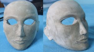 Head Sculpture attempt by kaelby