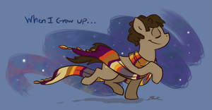 Doctor Whooves - When I grow up... by caycowa
