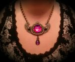 Dragon's Breath Vintage Hardware Worn by HoneyCatJewelry