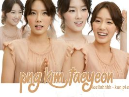 PNG Pack #01 - Kim TaeYeon by Leelinhhhh