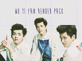 Pack PNG #14 Wu Yi Fan/Kris (EXO) by XieraaaPark