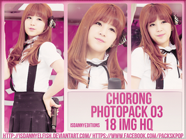 Chorong (A-PINK) - PHOTOPACK#03 by JeffvinyTwilight