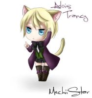 Alois Trancy - Chibi Neko by mechiistar