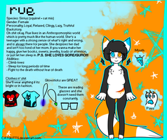 Rue Reference 2013 by CATGUTTS