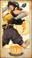 TF2 YLO Team: Scout by vickie-believe