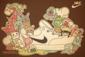 Kawaii Shoes by kepalakardus