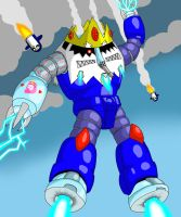 Ice'Gok! (Ice King as a Z'Gok!) by guywholikesflying