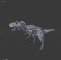 T-rex WIP by Bowser14456