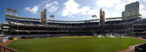 Petco Park from center field by dkbarto