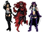 Zantana, Batwoman and Huntress by LavenderRanger