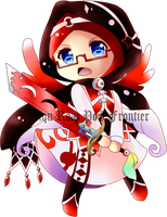 OC Chibi Hilal (Color) by Poi-Frontier